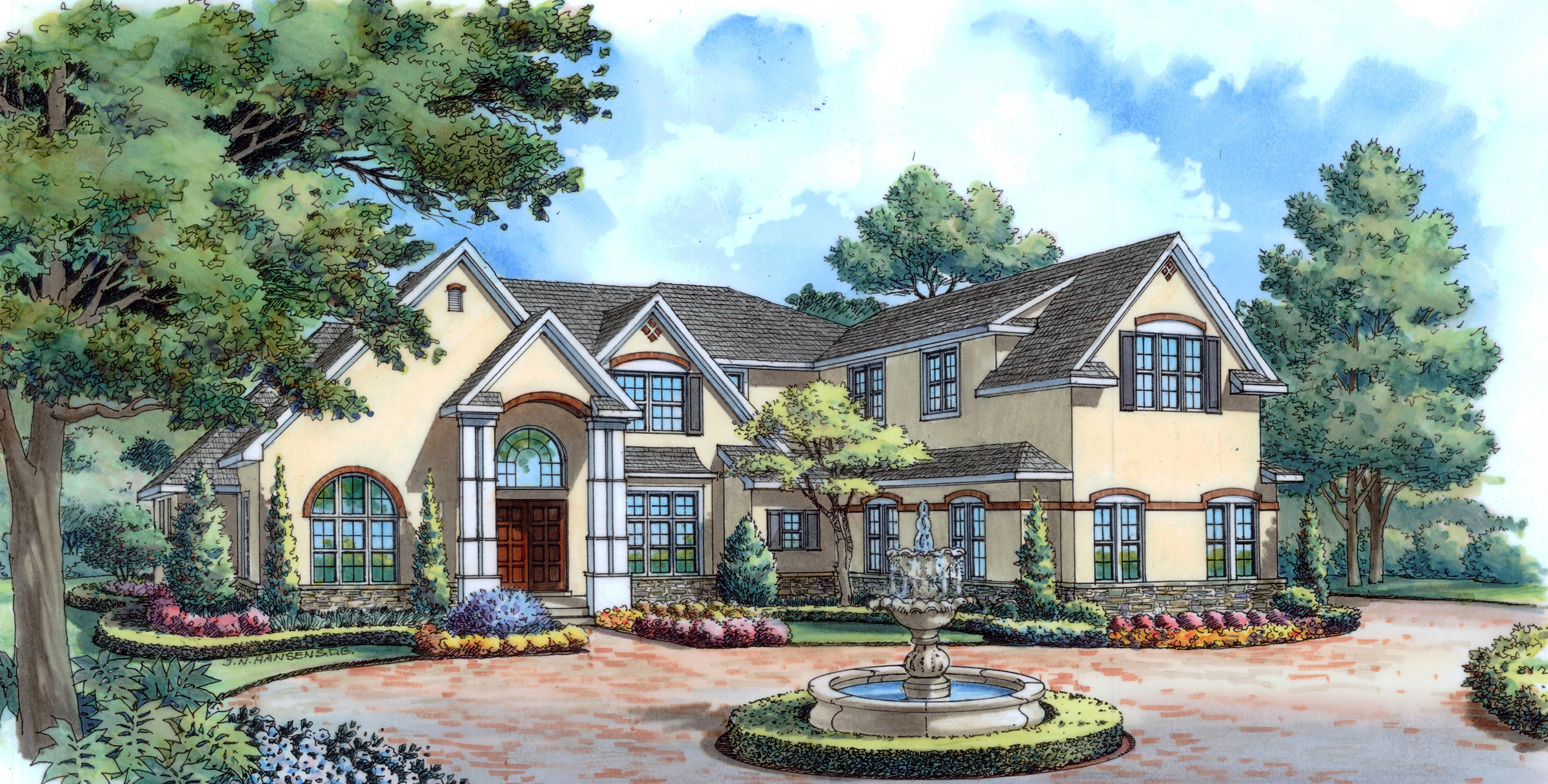 Luxury French Contemporary